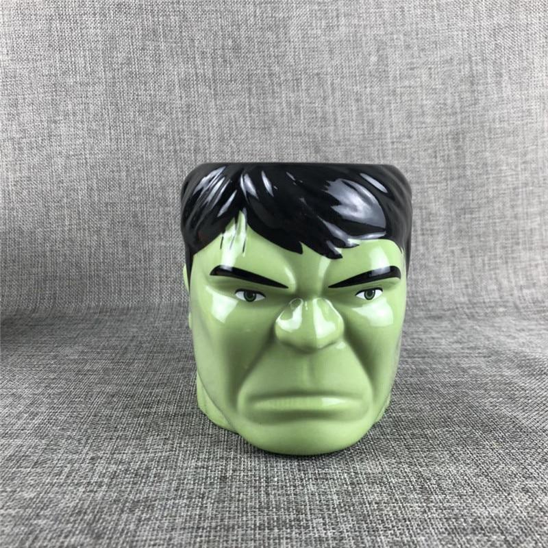 Creative Hulk fist and head Design Ceramics Mugs coffee mug Milk Tea office Cups Drinkware the Best birthday Gift with gift Box