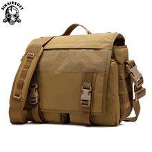 Tactical Military Camouflage Handbag 10 Inches IPad 4 Waterproof Nylon Shoulder Fishing Crossbody Sports Army Bag Messenger Bags