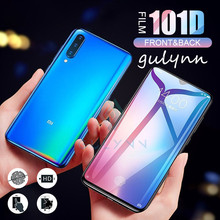 101D Front & Back Volledige Cover Hydrogel Film Op De Voor Xiao mi rode Mi K20 7A NOTE 8 7 6 5 Pro Screen Protector Voor mi 9 t F1 FILM(China)