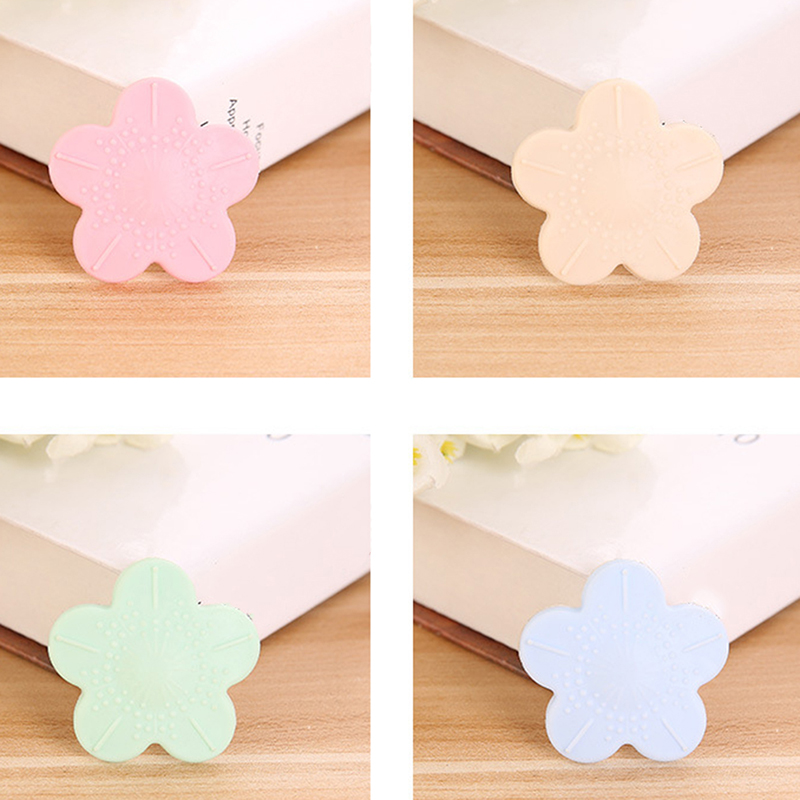 10Pcs Soft Silicone Baby Safety Protector Cover Table Corner Edge Collision Protection Transparent Child Safety Flower Shape Pad