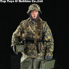 Full set In stock 1/6 DID 1/6th D80125 3RD SS Panzer Division MG34 Gunner solider Figure Collection 12 Action Figure Model for collection solider action figure full set 1 6 78047b russian spetsnaz fsb alpha group male figure standard ver