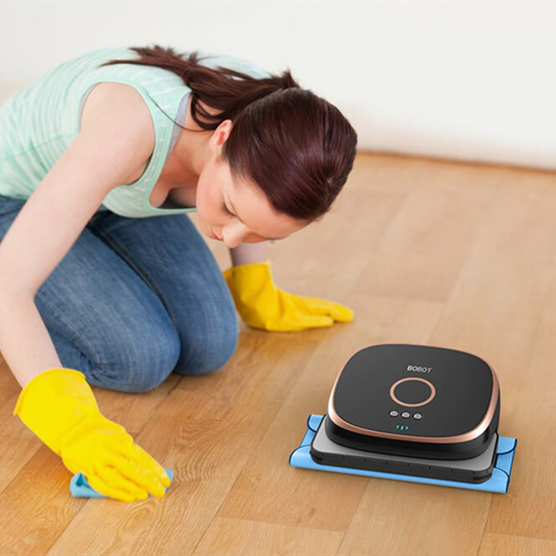 Image 2 - Xiaomi Bobot MIN580 Min590 intelligent mopping robot Imitation of human kneeling on the floor mopping smart mop-in Vacuum Cleaners from Home Appliances