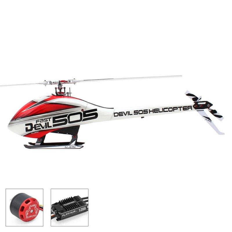 ALZRC-Devil 505 rápido FBL Combo 505 helicóptero-Motor/esc-120a