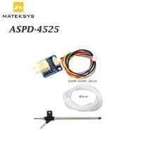 Matek System Mateksys digital Sensor de velocidad aerodinámica ASPD-4525 para RC Dron de carreras con visión en primera persona de F405 F711 F765 ala