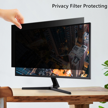 15.6 Inch Privacy Screen Filter Anti-peeping Protector Film for 16:9 Widescreen Laptop Notebook 345mm*195mm 1