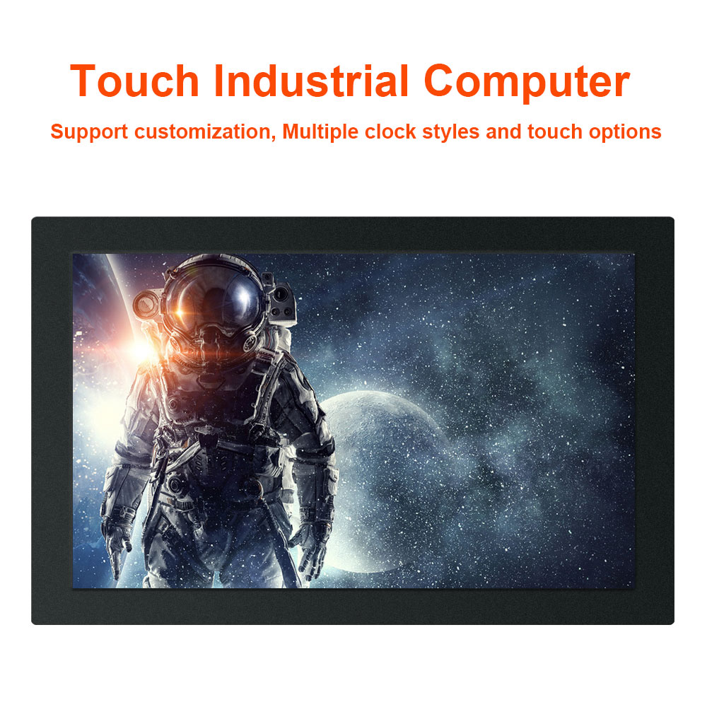 18.5 Inch All In One Pc Industrial Tablet PC Resistance Touch Screen Computer  J1900 J1800 Win7 XP System Buckles Mounting