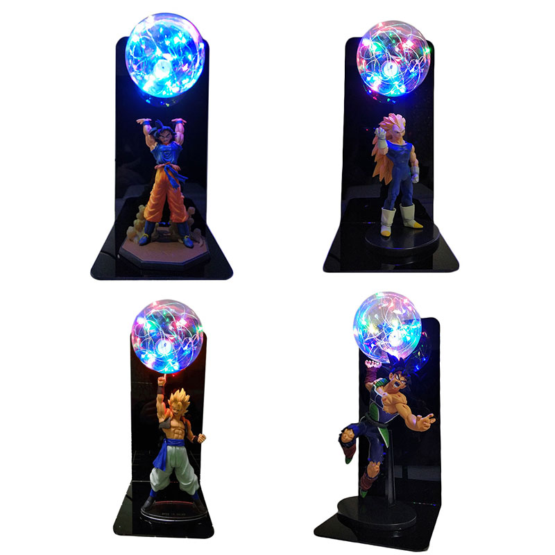 Image 3 - Dragon Ball Super Goku Vegeta Gogeta Figuras LED Light Dragon Ball Lamp Ultra Instinct Goku Bedroom Decorative Night Light Gifts-in Action & Toy Figures from Toys & Hobbies