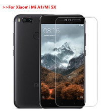 Tempered Glass For Xiaomi Mi A1 Mi 5X full screen protector glass film on Xiaomi Mi A1 mi a1 Xiaomi Mi5X mi 5x protective glass аксессуар защитное стекло для xiaomi mi a1 mi 5x neypo full screen glass gold frame nfg3330