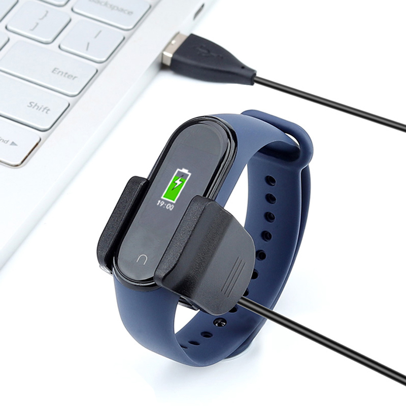 USB Charger For Mi Band 4 Nfc Charge Without Disassembling The Strap For Xiaomi Mi Band 4 Replacemet Strap Silicone Bracelet