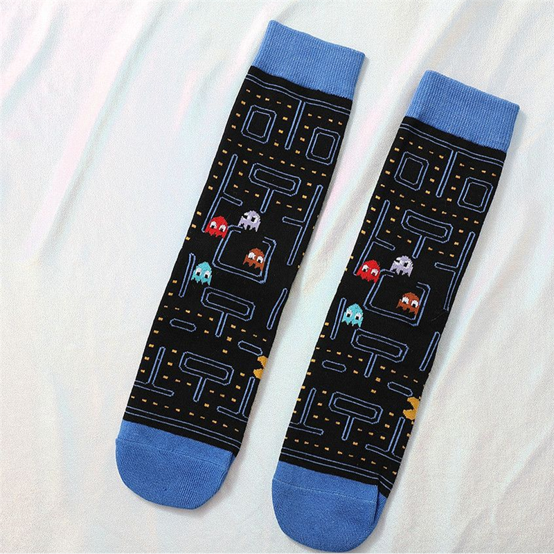 Pac-Man New Arrival Cute Cartoon Anime Men Women Socks Ankle Socks Kawaii Party Favor Cosplay Gifts