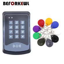 Keypad DOOR RFID Access Control System Device Machine 125Khz RFID Security Proximity Entry Door Lock brand new white rfid entry access control system kit set strike door lock rfid keypad exit button in stock free shipping page 8