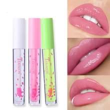 Changement de couleur brillant à lèvres changement de température anti-adhésif tasse rouge à lèvres hydratant complet en trois dimensions sens lèvres TSLM1
