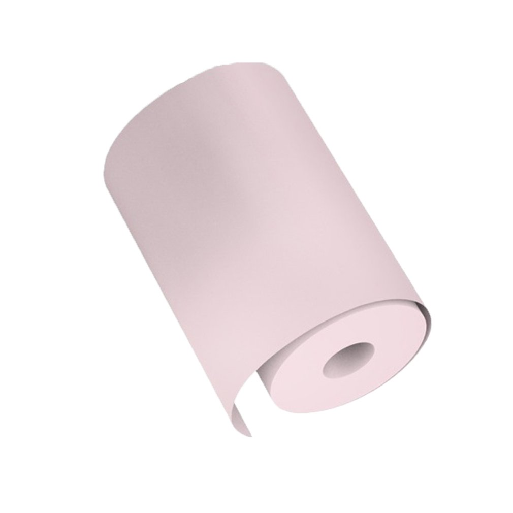 Colorful Pocket Printer Special Printing Paper 57*30Mm Thermal Printing Paper With Adhesive Printing Paper Sticker Paper