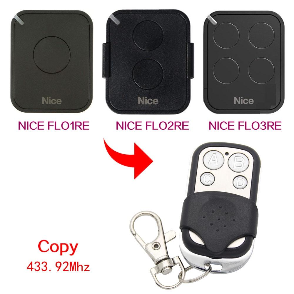 Хорошая FLO1RE FLO2RE FLO4RE пульт дистанционного управления 433,92 МГц ворота гаража хорошее 433 МГц пульт дистанционного управления