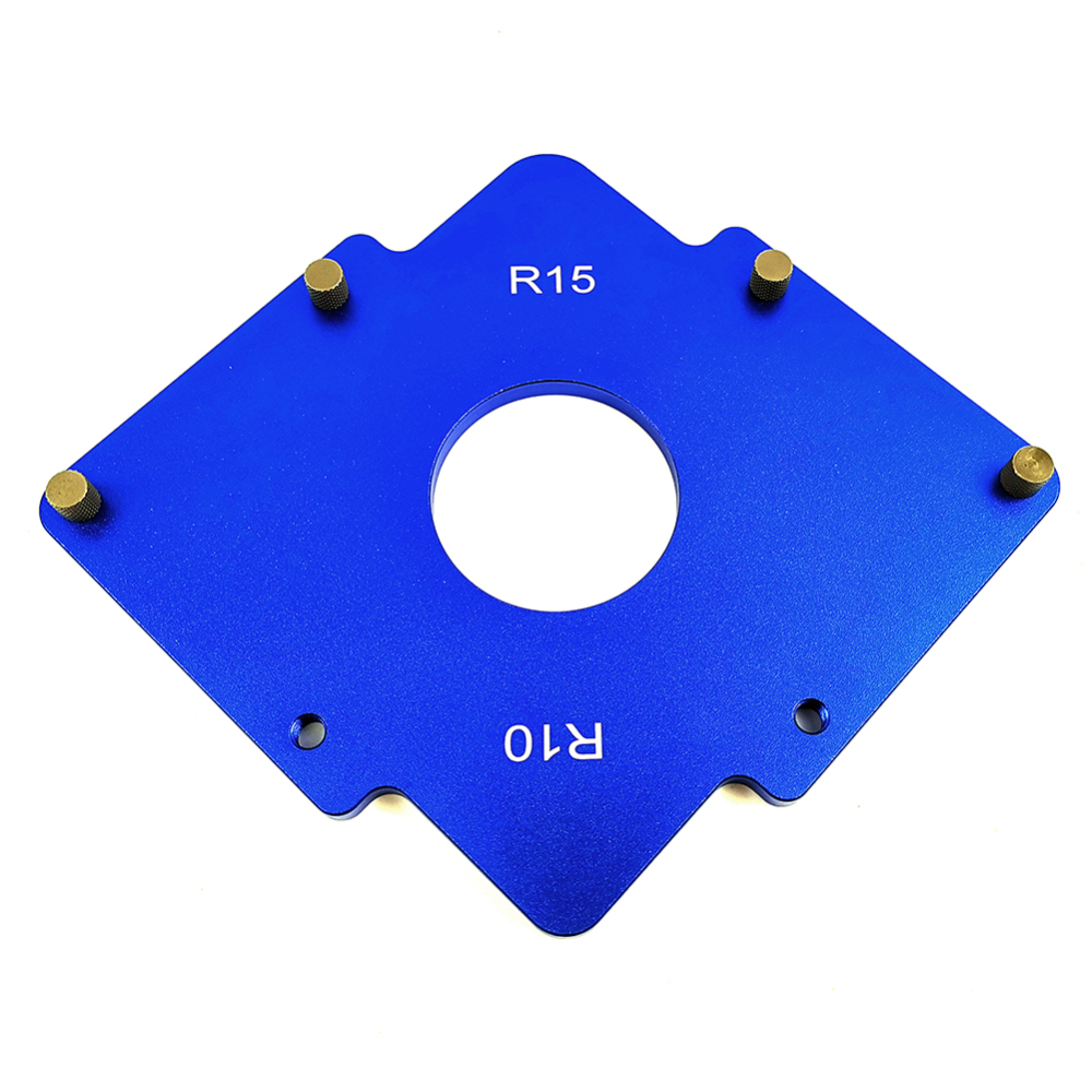 Practical Router Table Corner Jig Radius Chamfer Profile Template For Professional Efficient Woodworking Trimming Tools