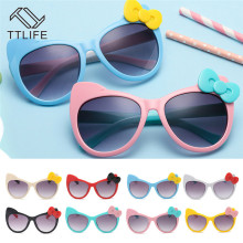 TTLIFE Children Goggle Girls Sunglasses Hot Fashion Boys Baby Sunglass Child Classic Retro Cute Sun Glasses Bow