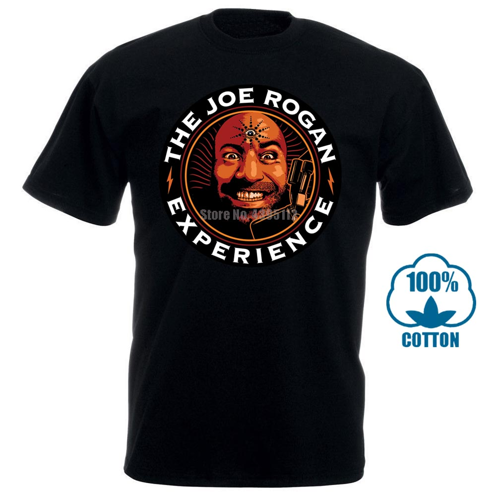 Joe Rogan Experience Jre Men Black Tshirt Size S 2Xl
