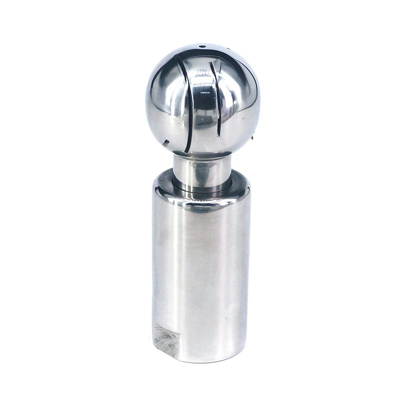 1/2 BSP Female Thread 304 Stainless Steel Sanitary Fitting Rotary Spray Ball Tank Cleaning Homebrew