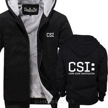 TV scène de crime enquête police judiciaire CSI manteau chaud marque de mode veste épaisse hommes nouveau bricolage de haute qualité sbz5225