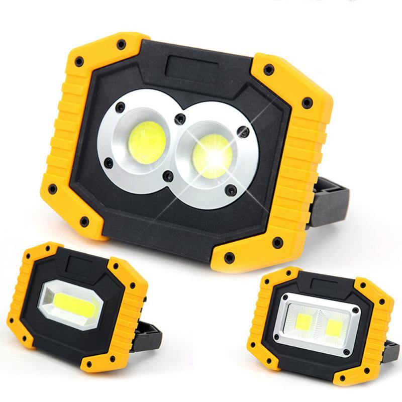 New LED COB Light Safety Flood Light Emergency Light USB Rechargeable 30W Bright Outdoor Camping Night Work Equipment