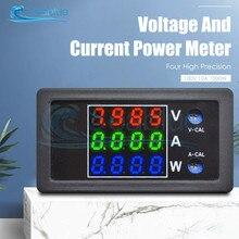 Voltmètre numérique LCD 0-0.28 V, 10a, 100 W, 1000 pouces, ampèremètre, wattmètre, testeur de courant, haute précision