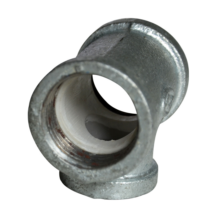 Place Of Origin Supply Of Goods Malleable Iron Threaded Internal Thread Lined T-connector 25X20 A Complete Range Of Specificatio