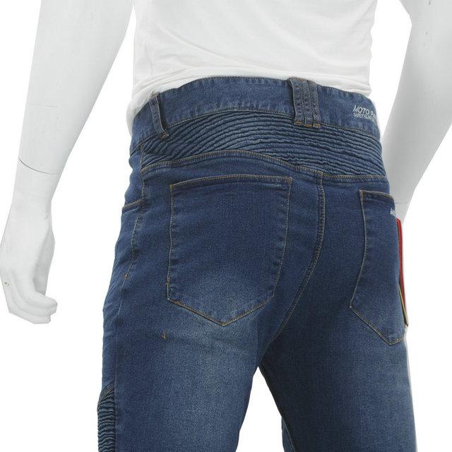 Nouveau KOMINE pantalons de Moto hommes Moto Jeans équipement de protection équitation Touring pantalons de Moto Motocross pantalons Pantalon Moto 3