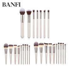 7/9/10pcs Makeup Brushes Set Beauty Foundation Power Blush Eye Shadow Brow Lash Fan Lip Concealer Face MakeUp Tool Brush Kit