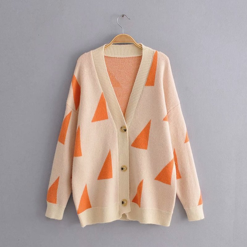 Hot Buy JJ50 -9837 European And American Fashion V Collar Long Sleeves Trui