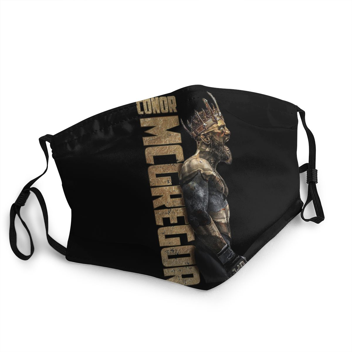 The King Of Ufc Conor Mcgregor Unisex Non-Disposable Face Mask Anti Bacterial Dustproof Protection Cover Respirator