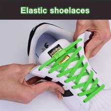 Magnetic ShoeLaces Elastic Locking ShoeLace Special Creative No Tie Shoes lace Kids Adult Unisex Sneakers Laces strings 1 Pair