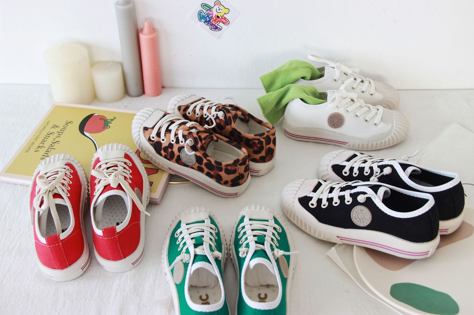 Autumn 2019 Children Leopard Biscuit Leisure Shoes Solid Color Shoes For Boys And Girls Board Shoes Kids All Match Shoes 1-6Y