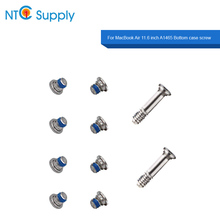 NTC Supply 10pcs/lot For MacBook Air 11.6 inch A1465 Replacement Bottom case screw 100% Tested Good Function