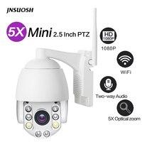 Güvenlik ve Koruma'ten Gözetim Kameraları'de WIFI Kamera Açık Mini PTZ IP Kamera 1080 p Hız Dome CCTV Güvenlik Kameraları IP Kamera WIFI Dış 2MP IR ev Gözetleme