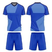 blank soccer jersey Men Sportswear Soccer Wear Quick Dry 100%Polyter Football Team Wear Soccer Jersey