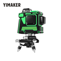 YIMAKER Laser Level 12 Lines 3D Self Leveling 360 Horizontal And Vertical Cross for Laser Line Measure As Construction Tools