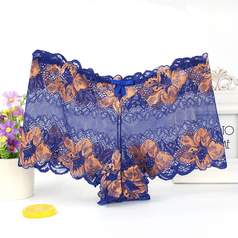Knickers Women Briefs Lace Shorts Hipster Panties Underwear Lingerie boxer sexy soft female panties 2020 plus size 4XL