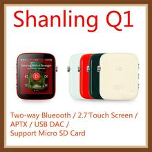 Shanling Q1 ES9218P Portable Mini Two Way Bluetooth APTX Hifi HD Lossless 2.7\ LDAC DSD128 USB DAC AMP MP3 Hifi Music Player shanling cd player scd1 hifi exquis sacd hifi dsd