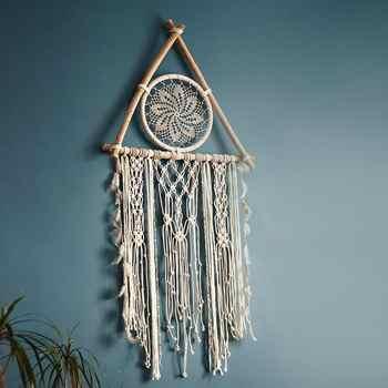 nordic dreamcatcher tapestry room decoration farmhouse decor handmade dreamcatcher  macrame dreamcatcher   gift for women men - DISCOUNT ITEM  25% OFF All Category