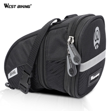цена на WEST BIKING Cycling Bicycle Bike Saddle Bag For MTB Mountain Road Bicycle Trunk Bike Seat Bag Outdoor Sport Cycling Accessories