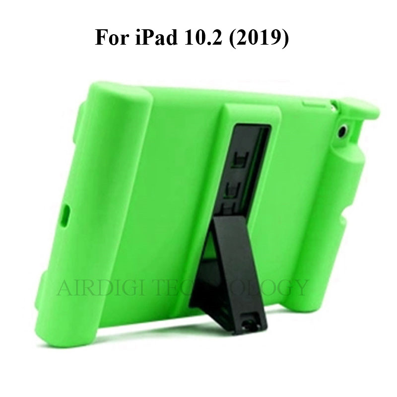 Silicone Kickstand Case iPad A2428 A2200 A2270 Soft A2197 Cover A2198 10.2 for Shockproof