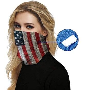 Windproof bandana hiking scarves m