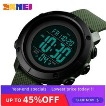 SKMEI 1434/1435 Man Sports Wristwatch El Light Week Pu Strap Men's Digital Waterproof
