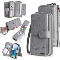 Custodia a portafoglio in pelle PU per Samsung Galaxy Note9 M31 S8 S9 S10 S20 S21 Plus A20E A21S A40 A50 A51 A70 A71 S20FE S21FE