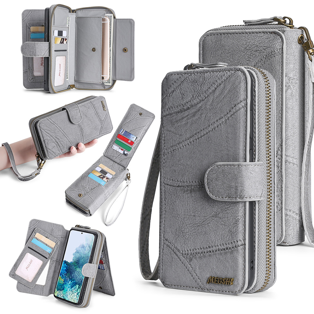 Wallet PU Leather Phone Case For Samsung Galaxy Note9 Note20 M31 S8 S9 S10 S20 S21 Plus A20E A21S A40 A50 A51 A70 A71 S20FE