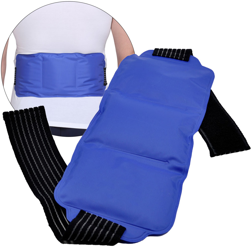 With Strap Reusable Hot And Cold Knee Pain Relief Ice Pack Set Multiple-use Portable Gel Wrap Wrist Soft Body Shoulder Elastic