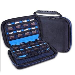 Image 5 - Hard Cover Durchführung Lagerung Taschen für Nintendo Neue 3DS XL 2DS Konsole Zubehör Schutzhülle Pouch Tragbare Zip Fällen Box
