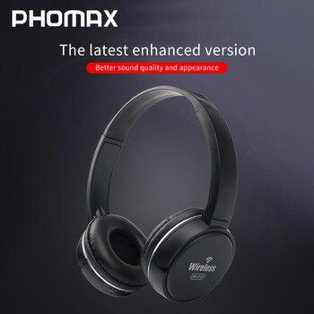 PHOMAX Wireless Headphones Bluetooth Headset High quality Earphone Deep Bass Headphones With Mic TF Card For Ipad Mobile Phone