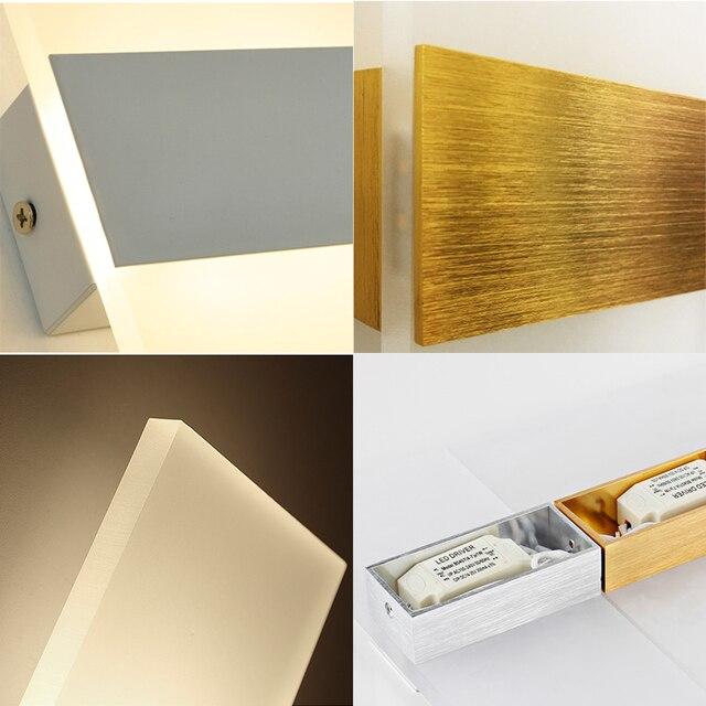Mooi Moderne Led Acryl Wandlamp  4