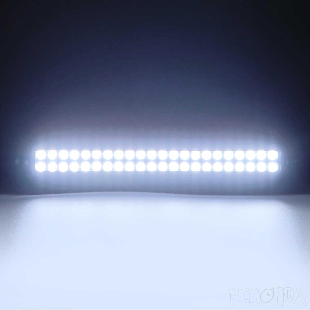 RC รถอะไหล่อัพเกรด LED Light Bar 32/36/44 หลอดไฟหลังคาสำหรับ 1/10 RC Crawler Traxxas TRX4 Axial SCX10 90046 D90 TF2